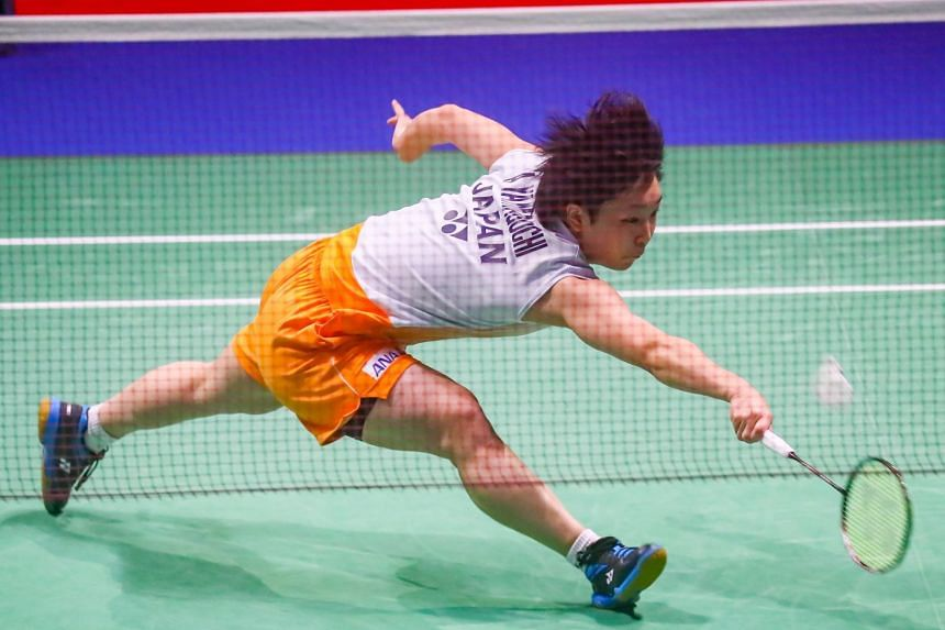 Akane Yamaguchi gave Japan a strong start in their 3-0 Uber Cup quarter-final win over India.