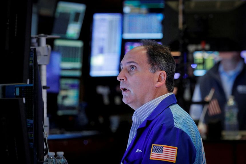 The Dow Jones Industrial Average jumped 1.6 percent to 34,912.56, advancing more than 530 points.