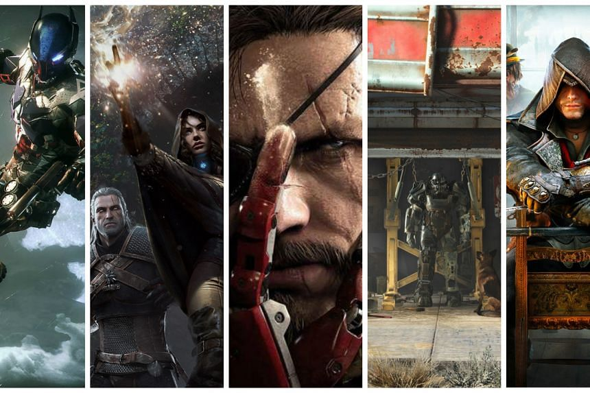 ST Digital Awards 2016 nominees for best overall game.