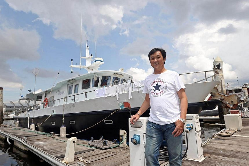 Mr Ricky Tan had been detained by the Indonesian authorities since last August for trespassing in Indonesian waters.