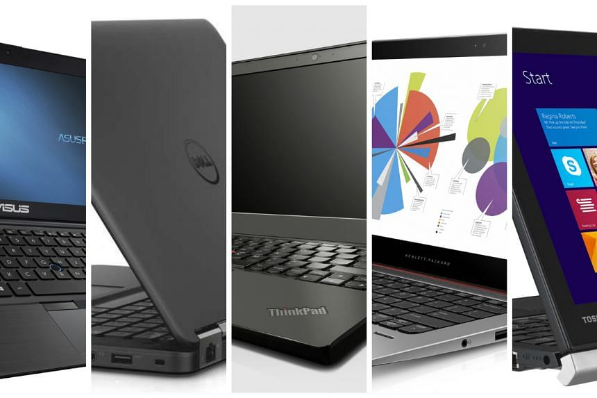 ST Digital Awards: Nominees for best business laptop.
