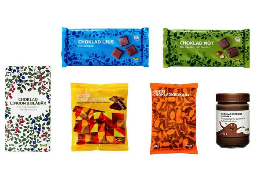 Ikea Singapore has issued a recall notice for six of its chocolate products, which were considered not suitable for persons allergic or sensitive to hazelnuts, almonds or both.