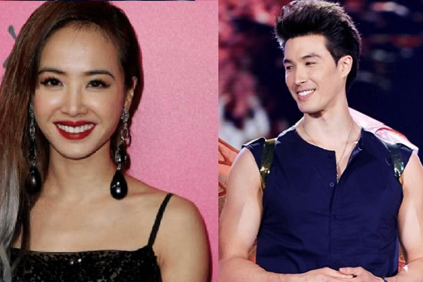 Taiwanese singer Jolin Tsai (left) and model Vivian Dawson have gone their separate ways after six years of dating.
