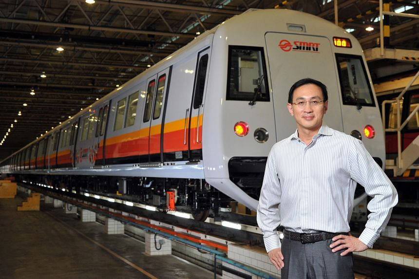 SMRT chief executive Desmond Kuek