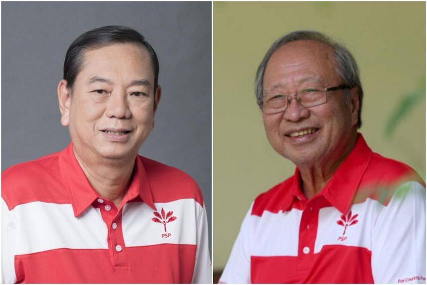 Mr Francis Yuen (left) will take over from party founder Tan Cheng Bock.