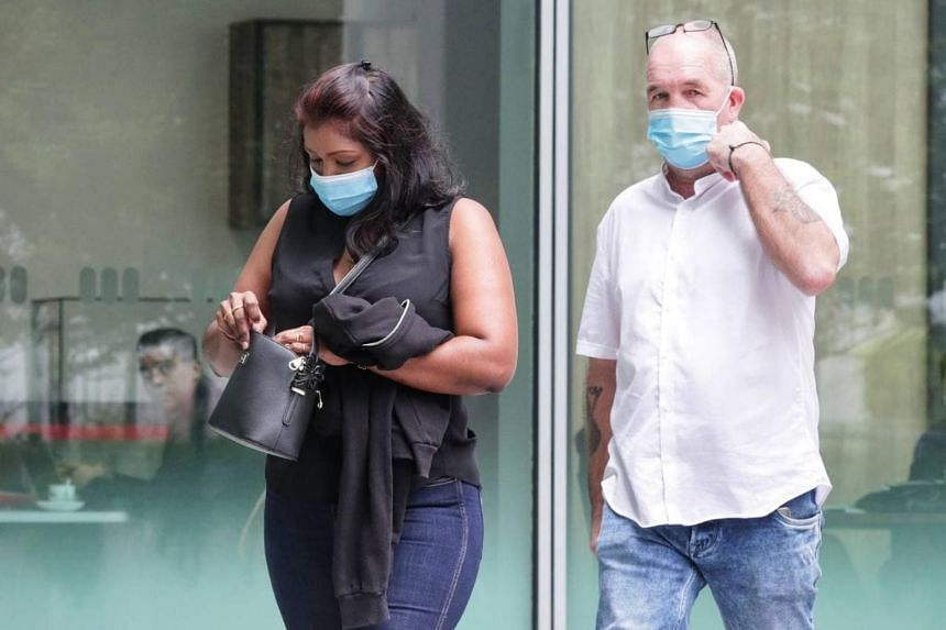 Nigel Skea sneaked out of his room at the Ritz-Carlton Millenia Singapore to meet fiancee Agatha Maghesh Eyamalai.
