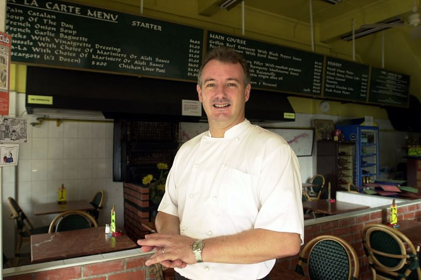 French chef Xavier le Henaff, owner of The French Stall at Serangoon Road.