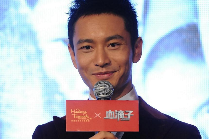 Actor Huang Xiaoming at a promotional event in 2012.