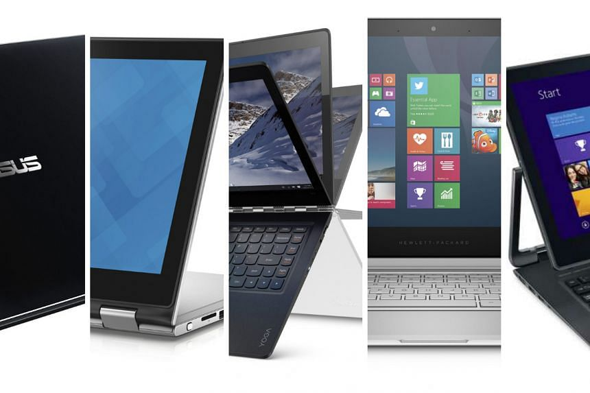 ST Digital Awards: Nominees for best hybrid laptop.