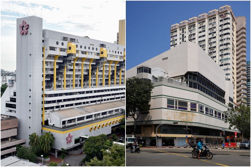 Special testing operations will be conducted for all staff of WU Bistro in Golden Mile Complex (left) and Club De Zara in Textile Centre (right).