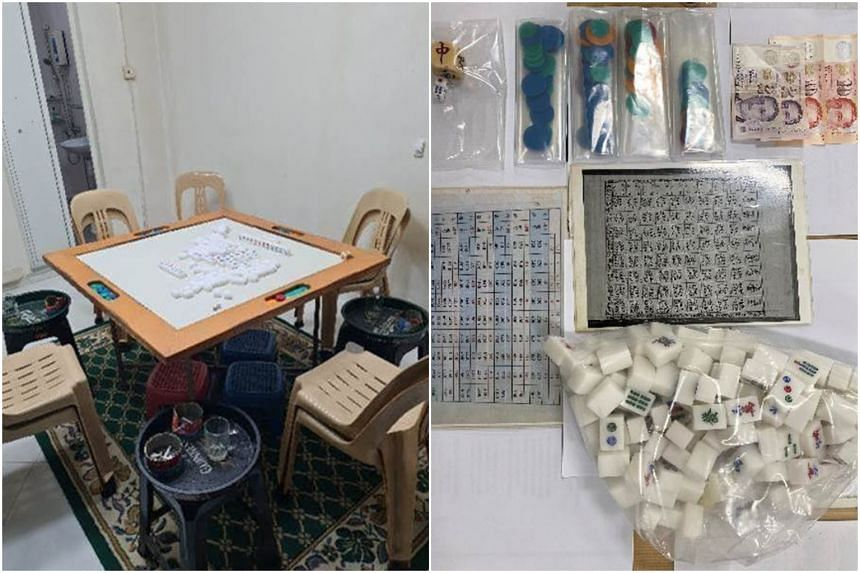 A police operation was conducted at a residential unit in Gangsa Road on June 10, 2021.