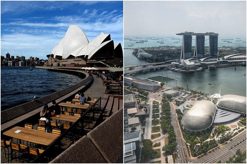 Australia hopes to set up a travel bubble that would include Singapore.