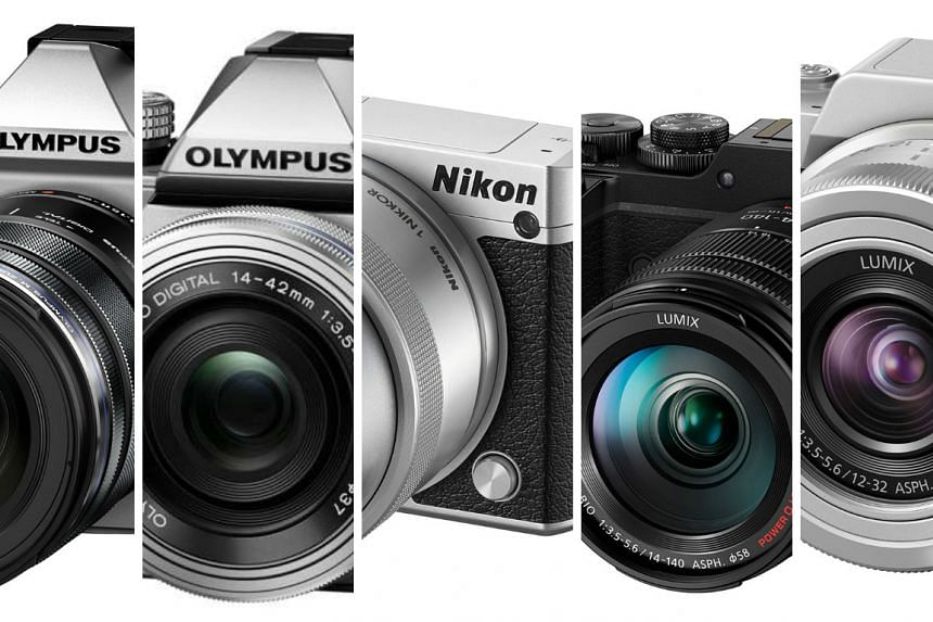 ST Digital Awards: Nominees for best Interchangeable Lens Camera (ILC) - Micro four thirds or below.