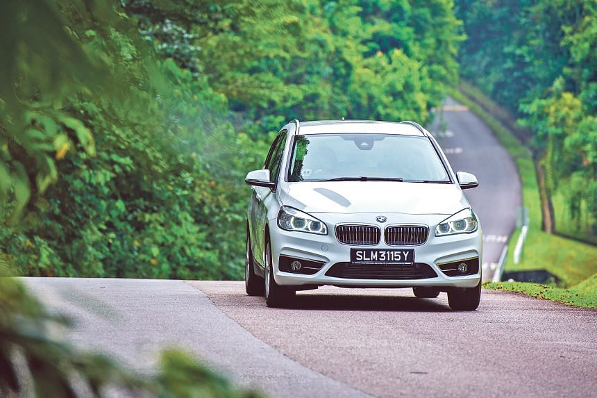 The Gran Tourer's accurate steering and solid chassis enable Mr Chong to take on sharp bends and turns with confidence.