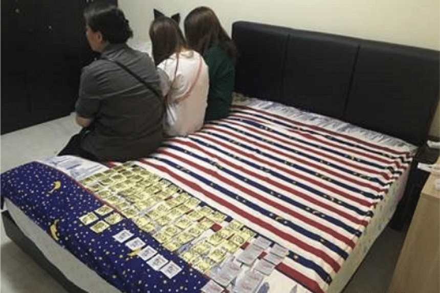 Islandwide raids saw 162 people get nabbed for suspected involvement in vice-related activities.