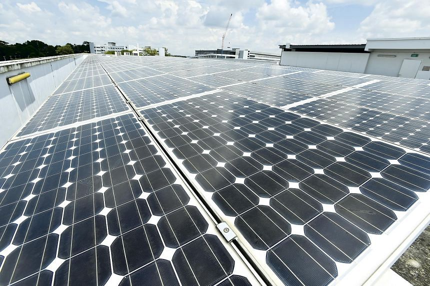 The deployment of solar panels will be extended to suitable rooftops of SAF camps and bases.