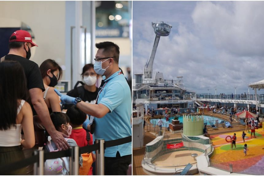 All ships sailing out of Singapore will have to receive CruiseSafe certification and adhere to its safety and hygiene guidelines to screen for and prevent the spread of Covid-19.