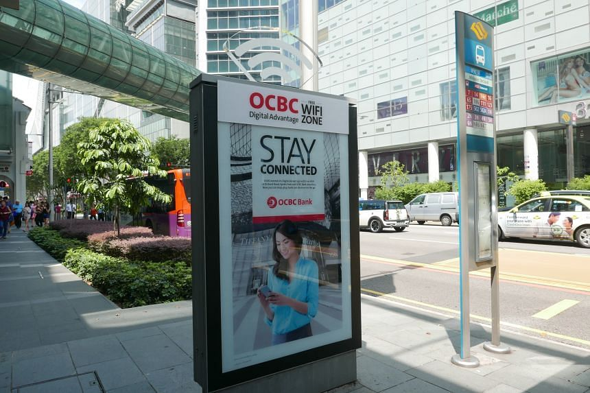 OCBC Bank on Wednesday (July 20) started providing free WiFi access at multiple public locations, including Orchard Road.