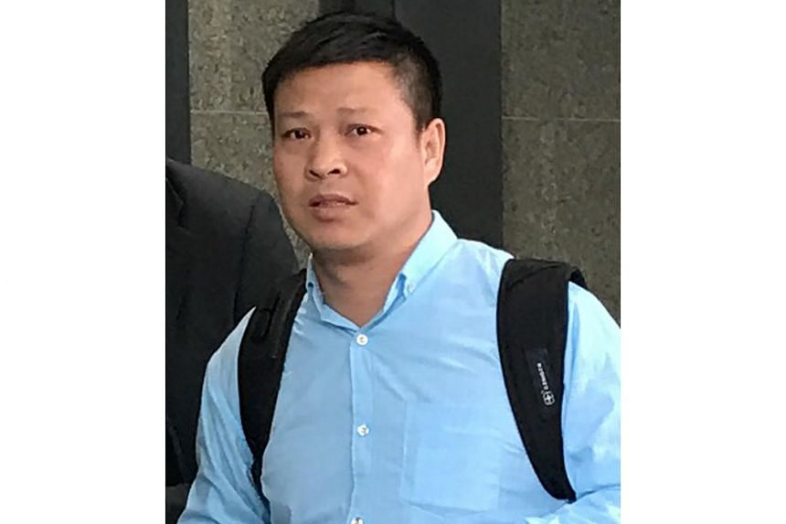 Pan Xuejun, the captain of the container ship that carried nine Singapore Armed Forces' Terrex armoured vehicles, was charged over not having an import license when the ship stopped in Hong Kong on Nov 23.