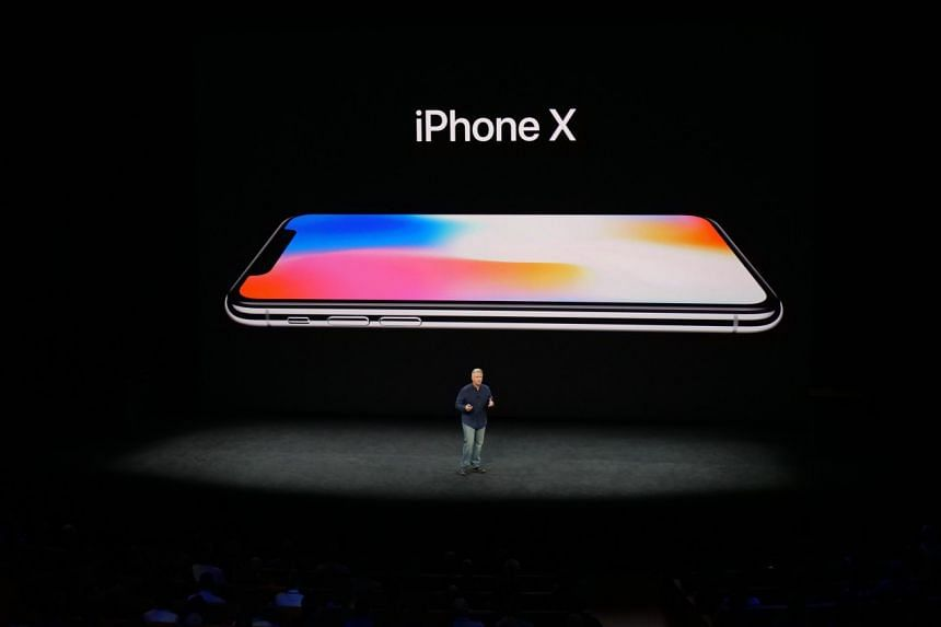 Apple's marketing chief talking about the new iPhone X.