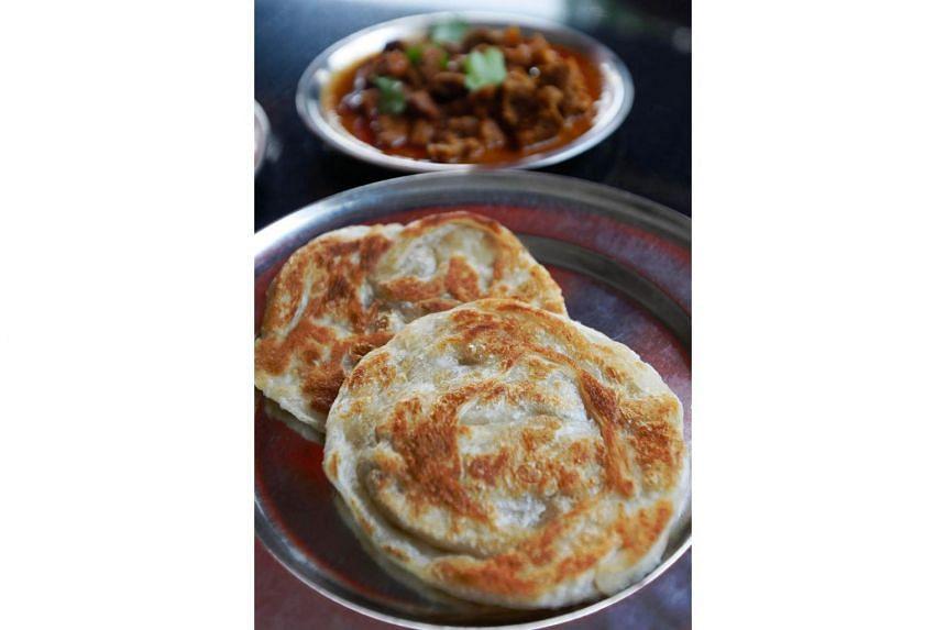 Prata from Casuarina Curry Restaurant.