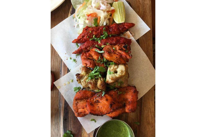 Zaffron tandoori platter from Zaffron Kitchen.