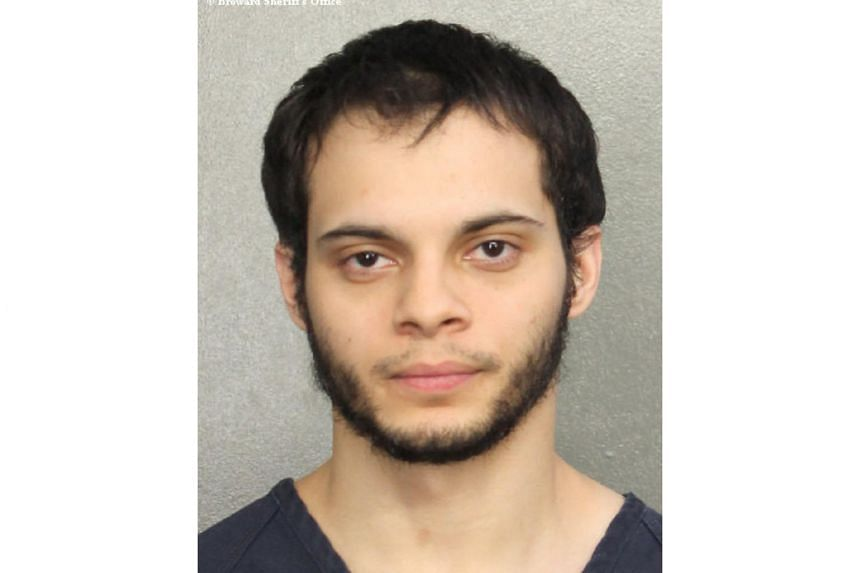 Esteban Santiago is seen in this booking photo provided by the Broward County Sheriff's Office in Fort Lauderdale, Florida on Jan 7, 2017.