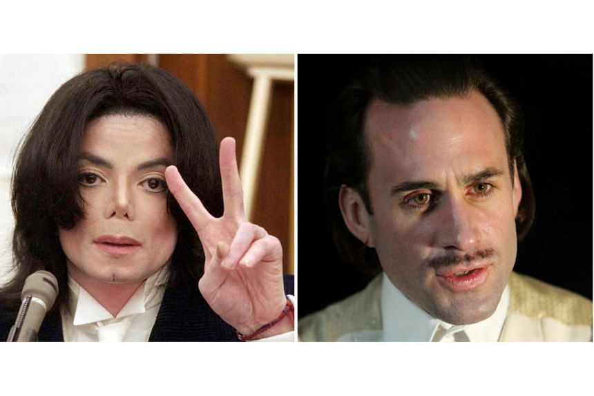 A comic film about Michael Jackson, which casts white actor British actor Joseph Fiennes (right) as the late pop star, was decribed as vomit-inducing by his daughter Paris.
