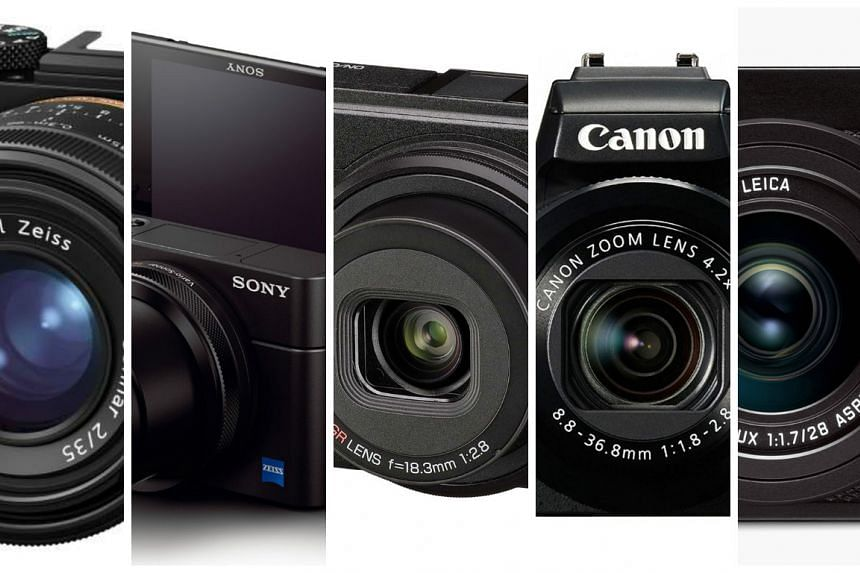 ST Digital Awards: Nominees for best compact prosumer camera.
