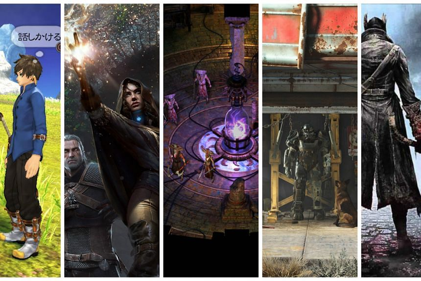 ST Digital Awards: Nominees for best role-playing game.