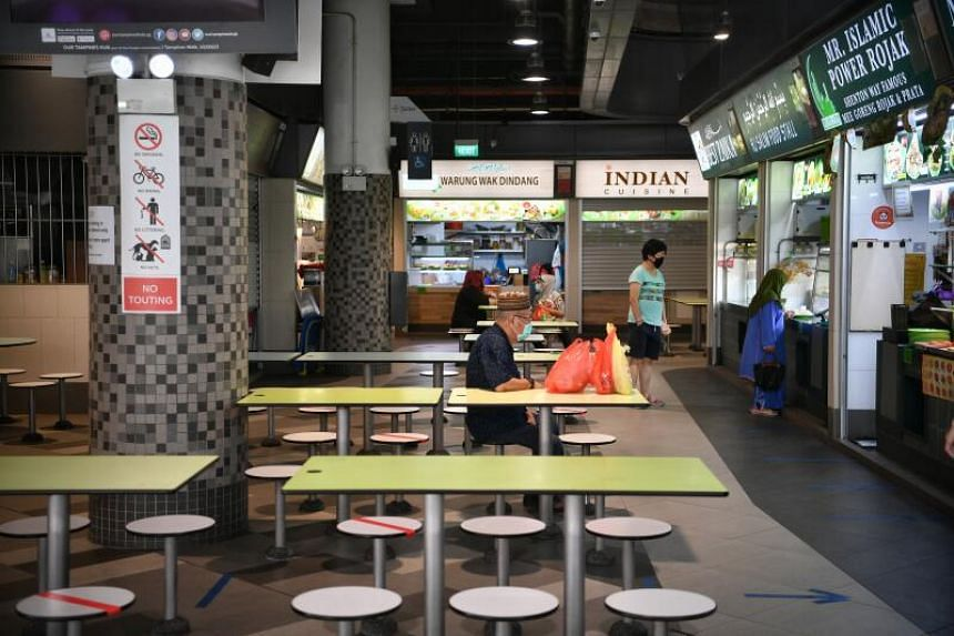 Hawker stalls had a typical tenancy period of three years, during which rental is kept unchanged.
