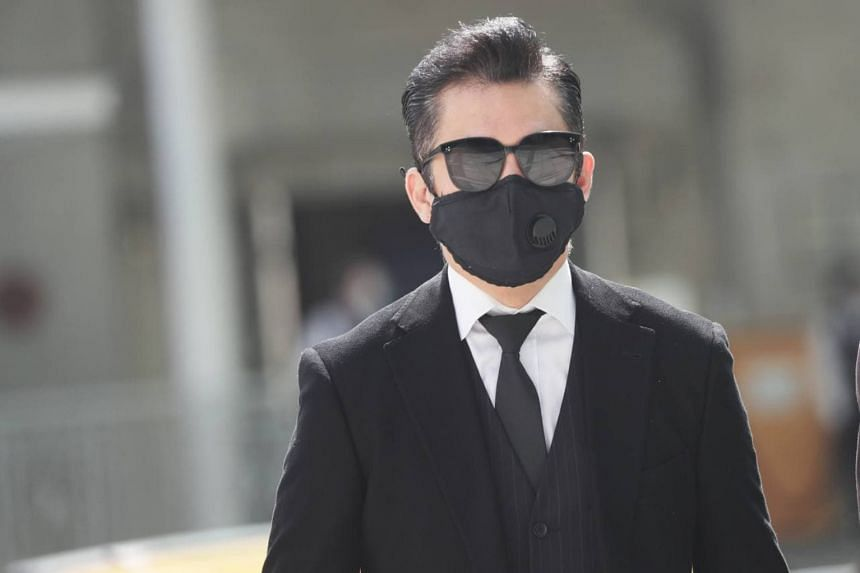Terence Cao Guohui breached phase two regulations that restricted social gatherings to no more than five people.