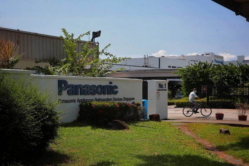 The layoffs represent about one-third of Panasonic's total workforce here.