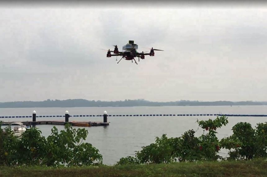 The drone has the capacity to carry a payload of up to half a kilogramme, fly at a height of up to 45m and travel a distance of 2.3km.