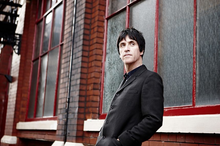 Johnny Marr now enjoys fronting a band instead of just playing guitar.
