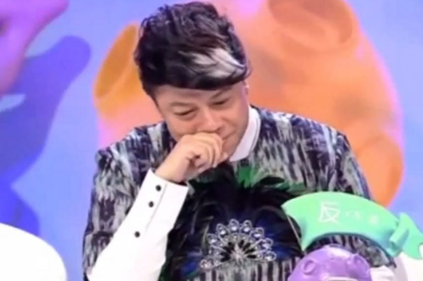 Talk-show host Kevin Tsai, who had come out of the closet 14 years ago, cried on a Chinese online talk show when he spoke about discouraging other stars from doing the same.