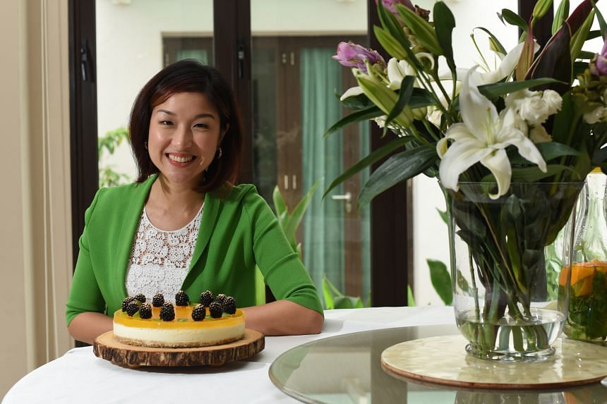 The passionfruit lime cheesecake by Ms Jenny Lie was inspired by her son, who loves lemons.