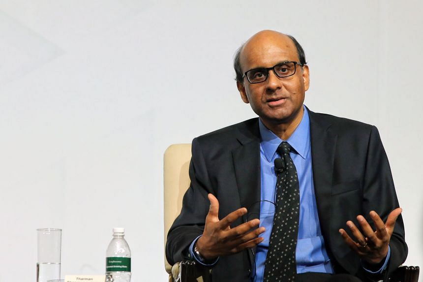 Asked whether he would be prime minister, DPM Tharman Shanmugaratnam said he did not see himself taking on the job.
