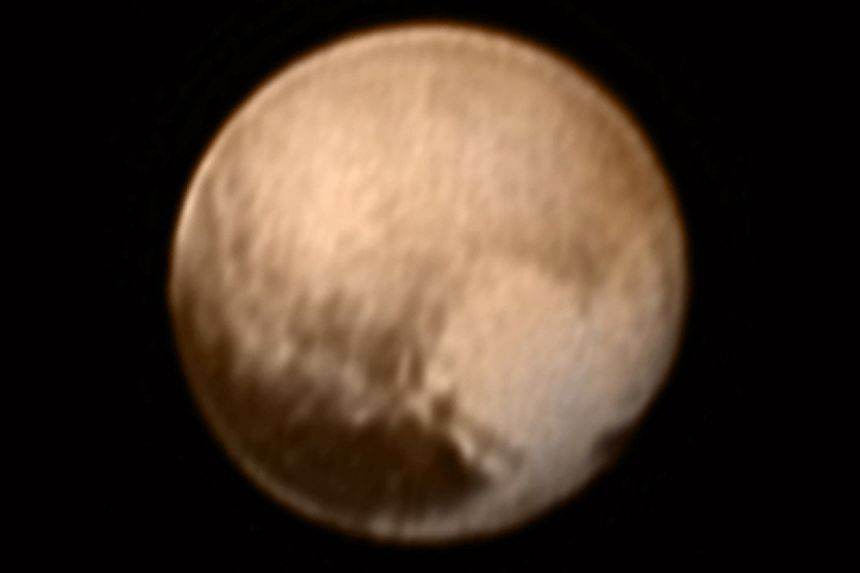 The latest image of Pluto taken by Nasa's spacecraft is giving scientists much better indications of the geology on the remote planet.