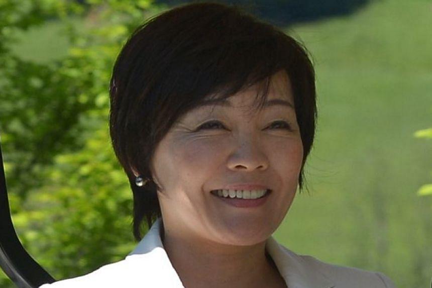 First Lady Akie Abe