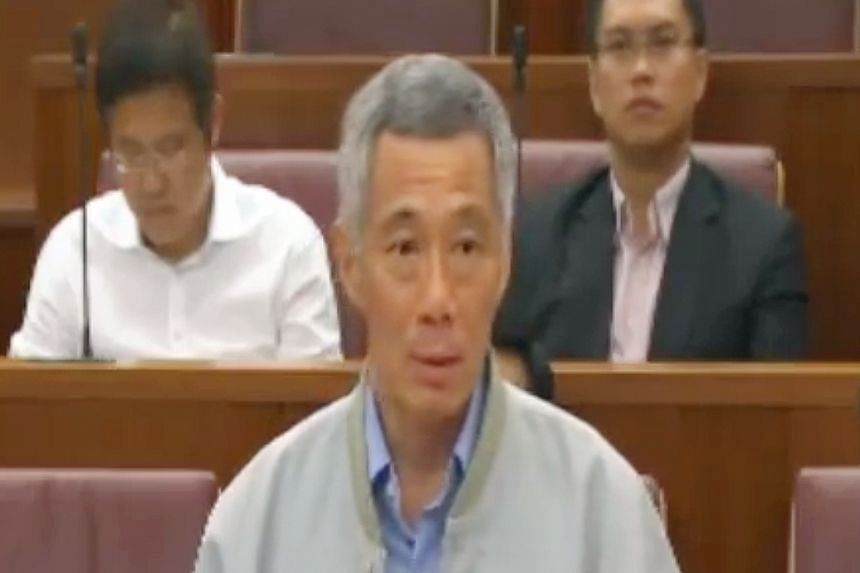 PM Lee does not think it is an entirely good idea to include political parties in the review committee.