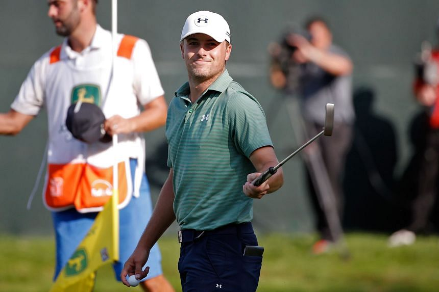 Jordan Spieth can hardly believe the superb year he has had after winning the John Deere Classic by beating veteran journeyman Tom Gillis in a play-off.