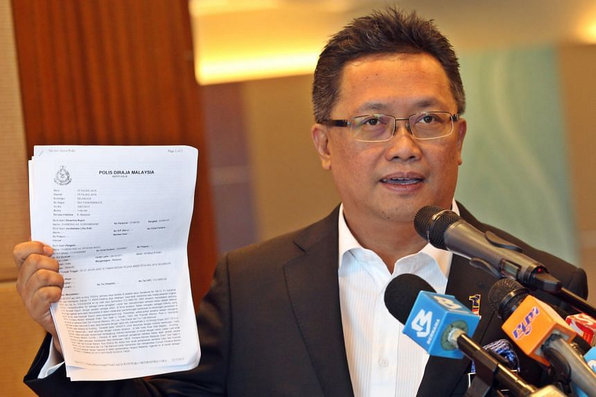 "Minister Abdul Rahman Dahlan says a police report has been made over an alleged conspiracy to ""criminalise"" the Malaysian PM."
