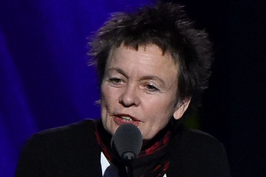 Musician Laurie Anderson