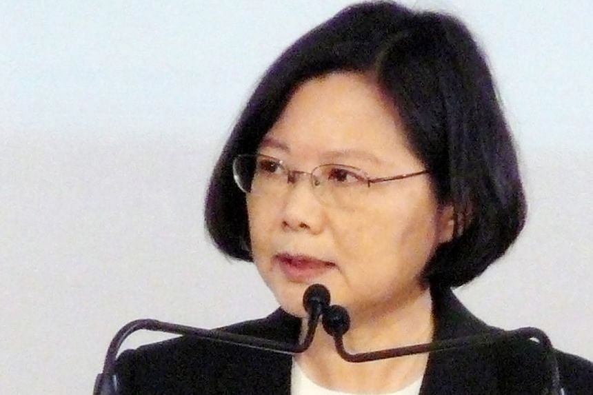 KMT candidate Hung Hsiu-chu (left) will stand against Ms Tsai Ing-wen (above) of the pro-independence Democratic Progressive Party, with China policy at the heart of the duel.