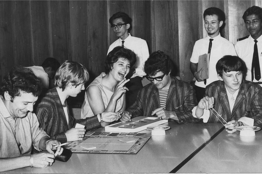 Drummer Honey Lantree of The Honeycombs arrived in Singapore on Aug 2, 1965 from Bangkok before leaving for Kuala Lumpur and Penang.
