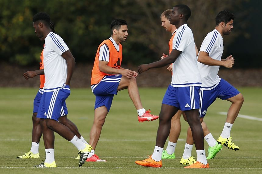 Radamel Falcao (third from left) and Diego Costa (right) will give Chelsea manager more options in attack and insurance when either striker gets injured.