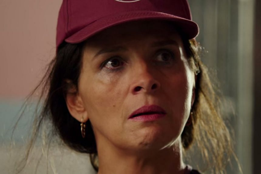 Juliette Binoche playing a leader of the miners' relatives in The 33.