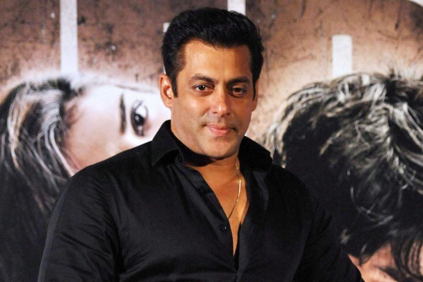 Bollywood actors Amitabh Bachbach (right) and Salman Khan (above) share the No. 7 spot, while Akshay Kumar (below) is No. 9.