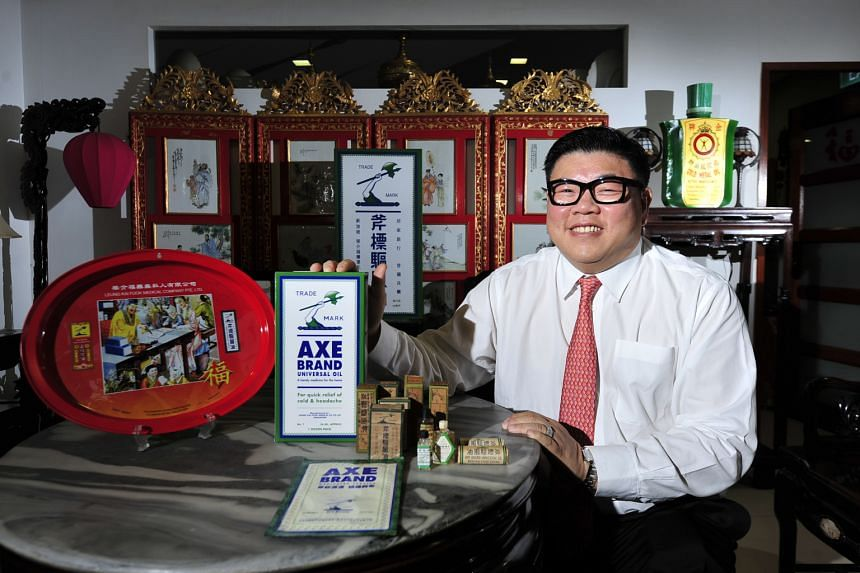 Leung Kai Fook Medical Company started as a cottage business making medicated oil in the 1930s and the formula of the oil has not changed much since then. It is now sold in 50 countries, with sales growing every year, says business development manage